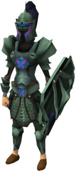 Adamant heraldic armour set 2 (sk) equipped