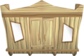 Oak magic wardrobe built