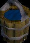 Bailing bucket (full) detail