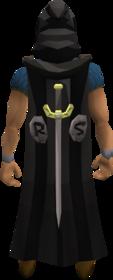 Classic cape equipped