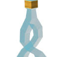Crystal flask