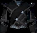 Elf-style coat (black)