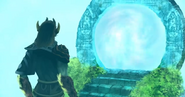 Guthix creating the Portal of Life