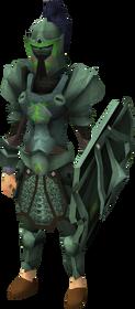 Adamant heraldic armour set 4 (sk) equipped