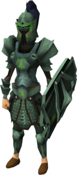 Adamant heraldic armour set 4 (sk) equipped