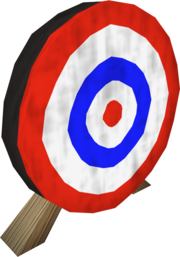 Archery target detail