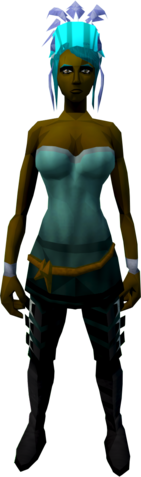 File:Feather headdress (charged) (blue) equipped.png