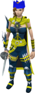 Jagex Moderator Outfit female equipped