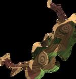Elder shieldbow (u) detail