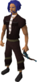 Off-hand rune crossbow equipped.png