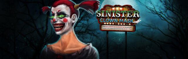 File:Sinister Clown Mask banner.jpg