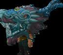 Blue zodiac costume