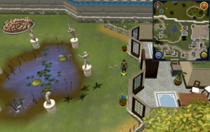 Scan clue Falador east side of Falador Park