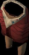 Pharaoh's shendyt (red, female) detail