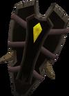 Gallileather shield detail