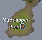 Mudskipper Point map