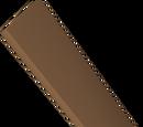 Mahogany plank