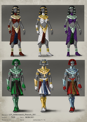 Pharaoh outfit concept
