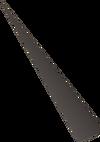 Iron dart tip detail