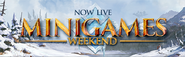 Minigames Weekend Live lobby banner