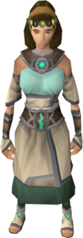 Robes of Remembrance outfit equipped (female)