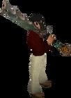 Bandos godsword equipped