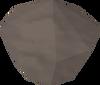 Blackened crystal detail