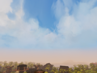 Daytime skybox