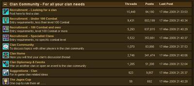 Clan Forums