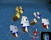 Battleship fight