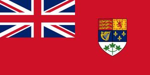 Flag Canada 1921-1957