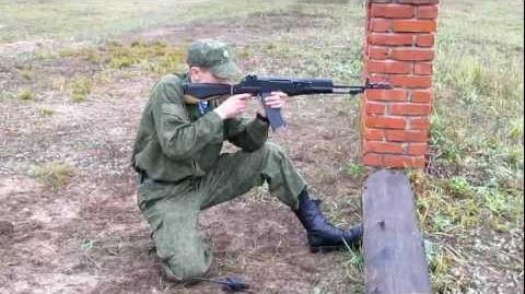 """Стрельба из АН-94 """"Абакан"""""""