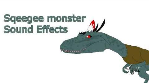 Sqeegee monster sound effects