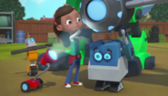 Rusty Rivets - Ruby, Ray, Crush, and Jack in the Opening Sequence