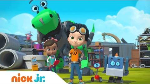 Rusty Rivets Nick Jr. Adventure in the Making Series Premiere Trailer (AD)