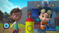 Rusty Rivets - Ray the Bit in Rusty's Balloon Blast.png