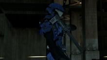Blue soldier tomohawk