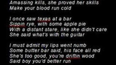 """""""A Girl Named Tex"""" with Lyrics"""