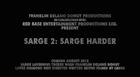Sarge 2 Credits