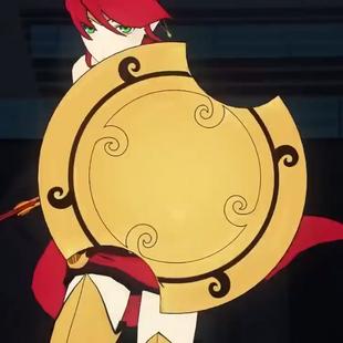Akoúo̱ Shield