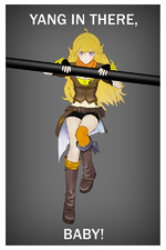 Yang in there baby