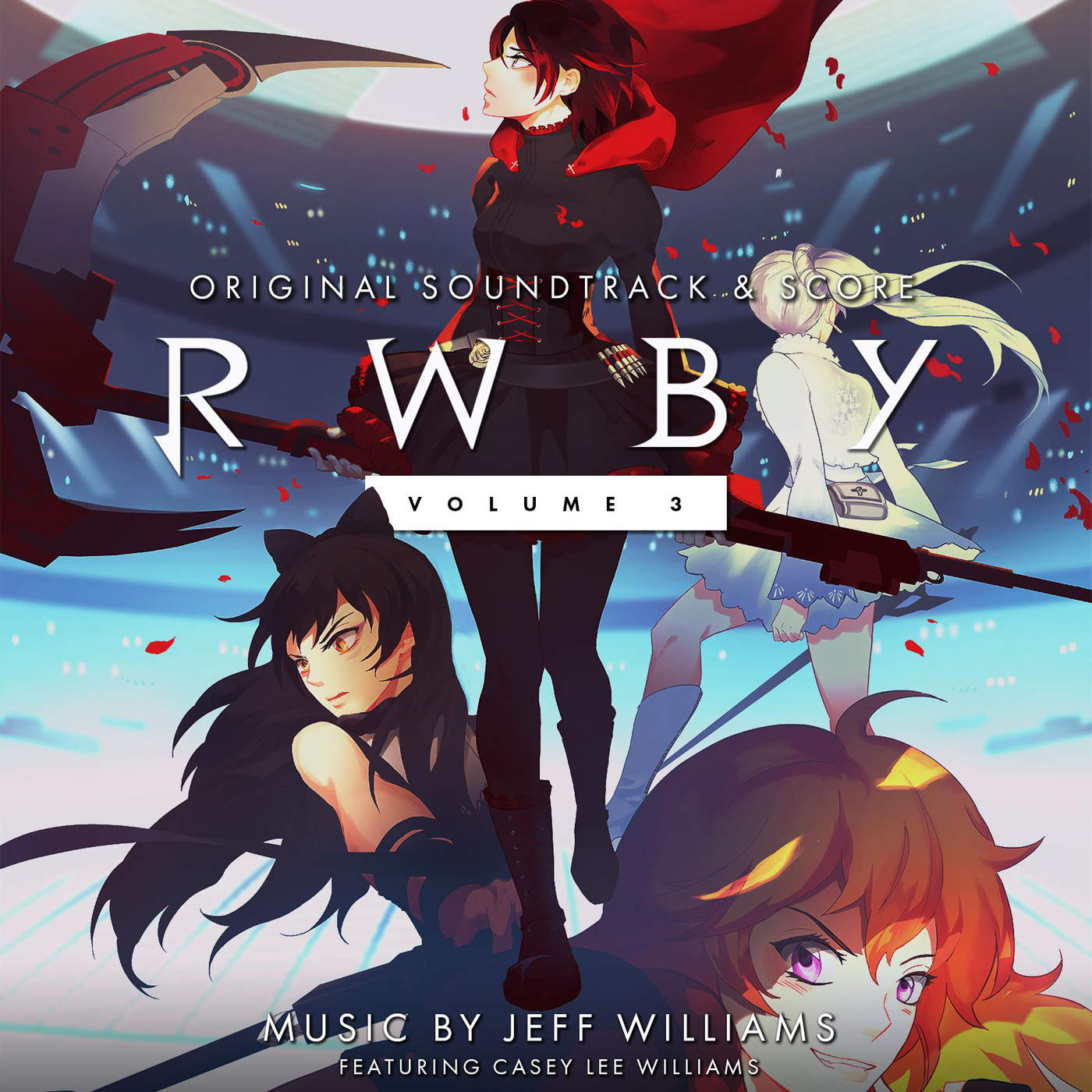 RWBY  Volume 3 Soundtrack on emerald rwby vol 4
