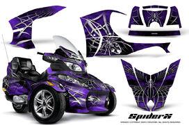 Can-Am Spyder RT-S Full Trim SpiderX Purple