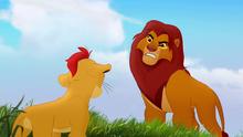 Simba scolds Kion