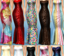 10 Concerto Dress Recolors by The Simsperience