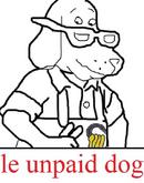Le unpaid dog