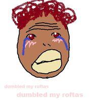 Cryingafricane