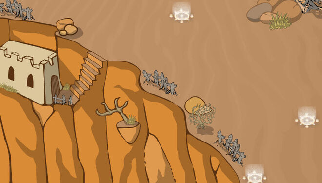 Death Dunes Map a4