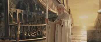 Gandalf leaving