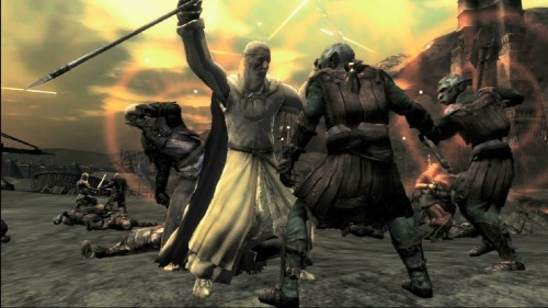 File:The Lord of the Rings- Conquest -Gandalf fighting Orcs.png
